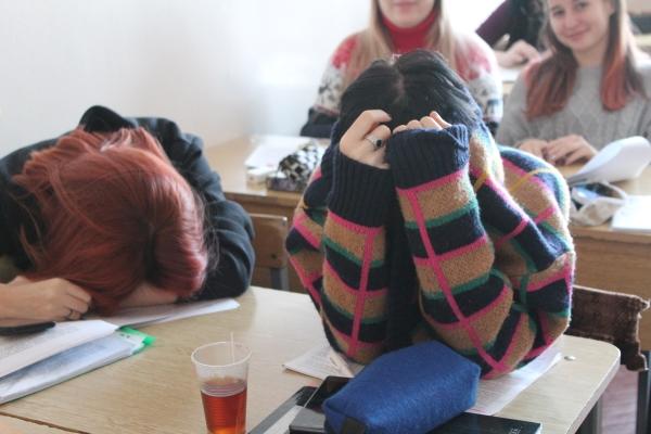 один будний день студентки, город Магадан, фото 28