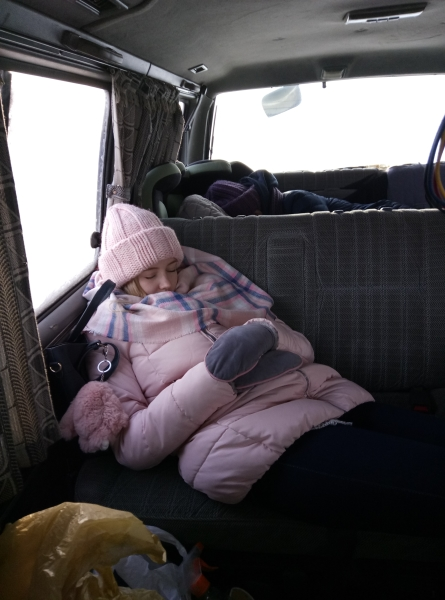один будний день студентки, город Магадан, фото 36