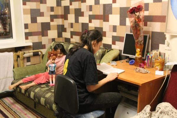 один будний день студентки, город Магадан, фото 52