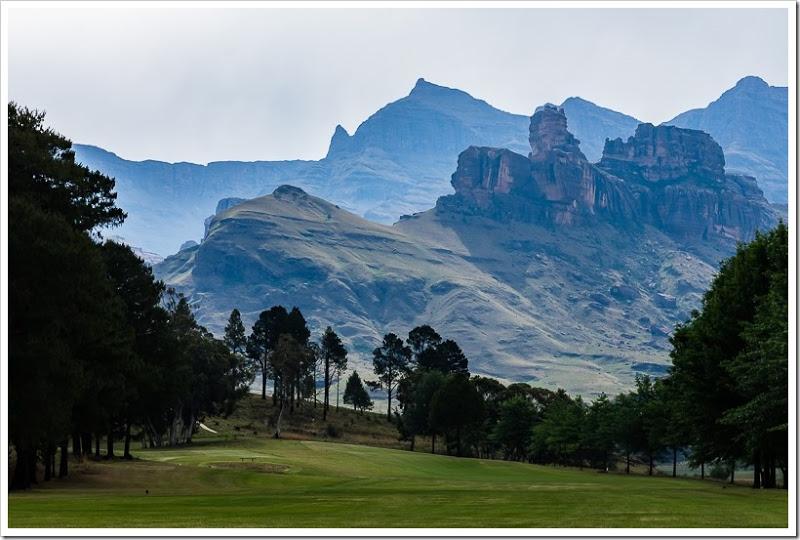 один мой день в Драконовых горах, ЮАР