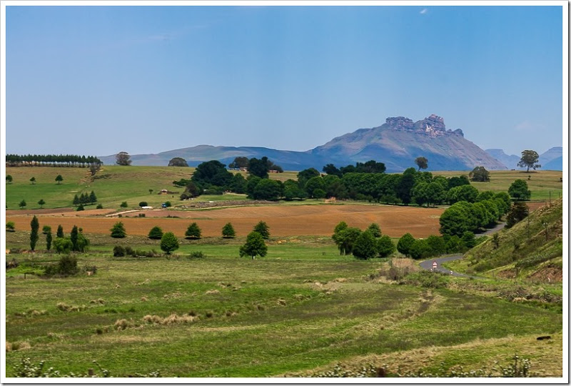 один мой день в Драконовых горах, ЮАР, фото 14