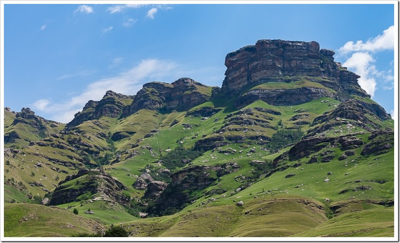 один мой день в Драконовых горах, ЮАР, фото 16