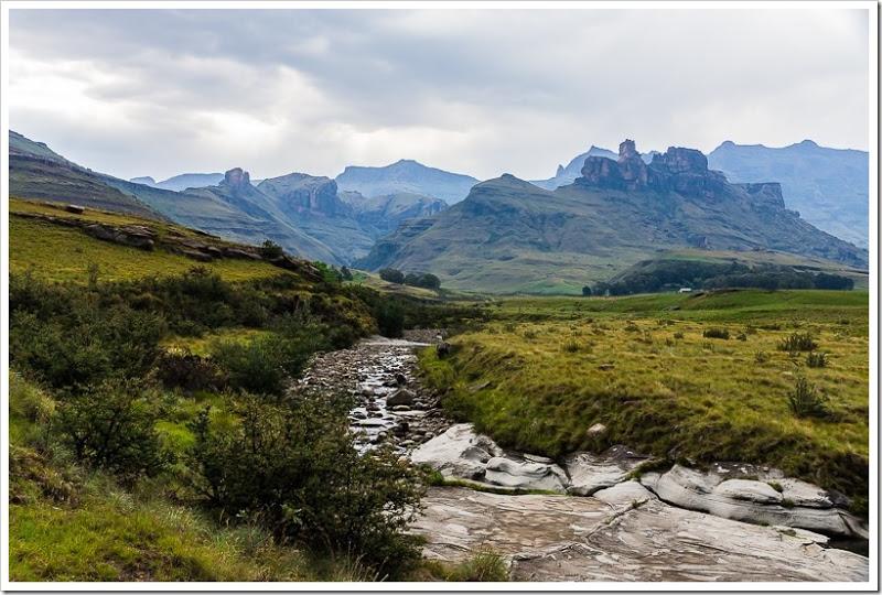 один мой день в Драконовых горах, ЮАР, фото 47
