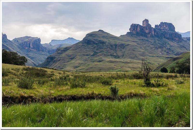 один мой день в Драконовых горах, ЮАР, фото 49