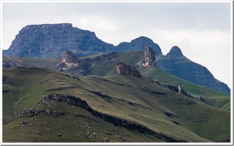 один мой день в Драконовых горах, ЮАР, фото 54