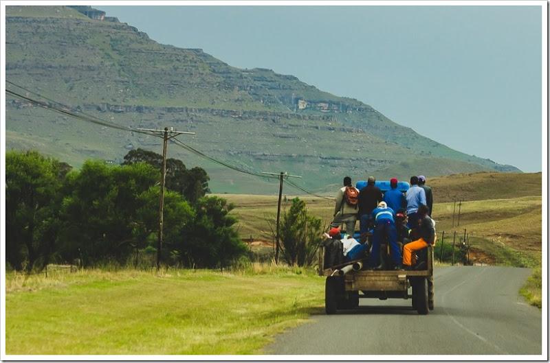 один мой день в Драконовых горах, ЮАР, фото 56