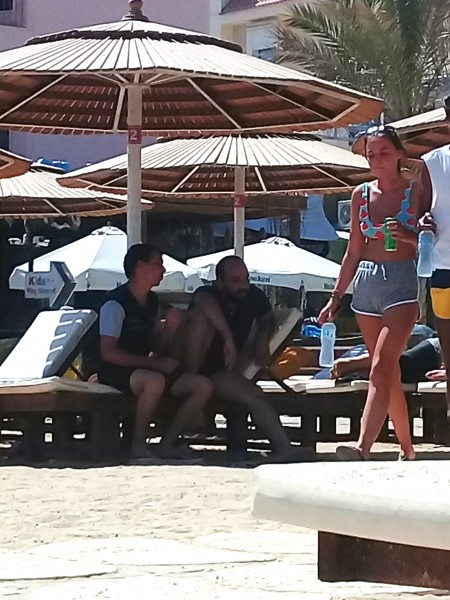 один пляжный выходной певицы в Хургаде, Египет, фото 10
