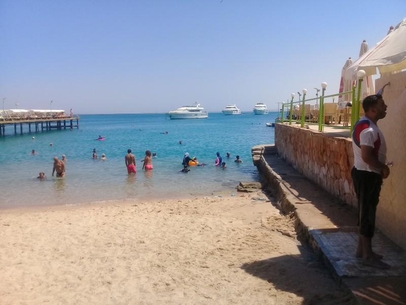 один пляжный выходной певицы в Хургаде, Египет, фото 12
