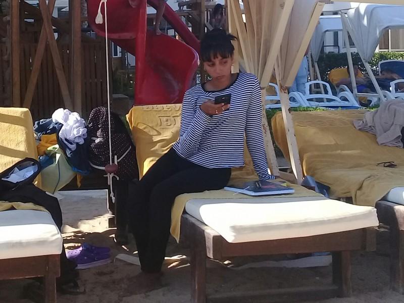 один пляжный выходной певицы в Хургаде, Египет, фото 9