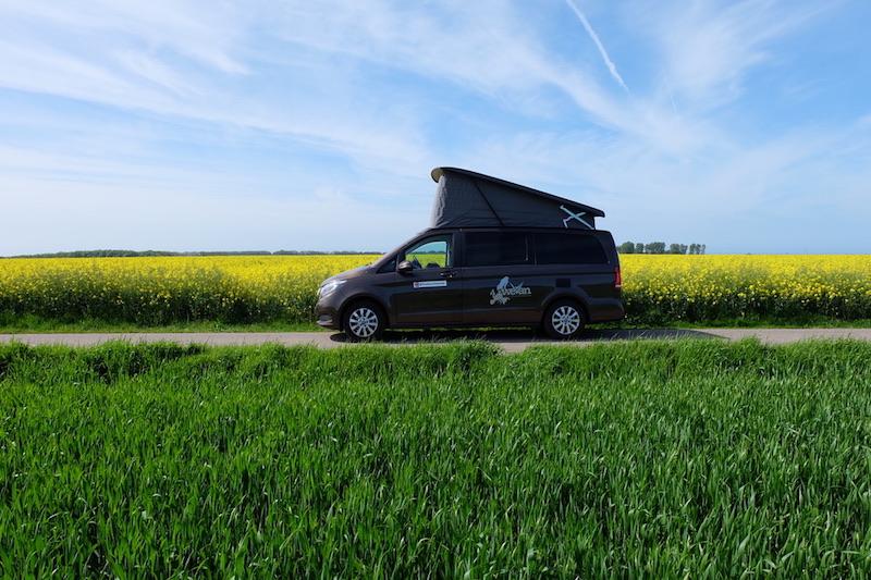 один день путешественников на кэмпинг вэне по северу Франции, фото 23