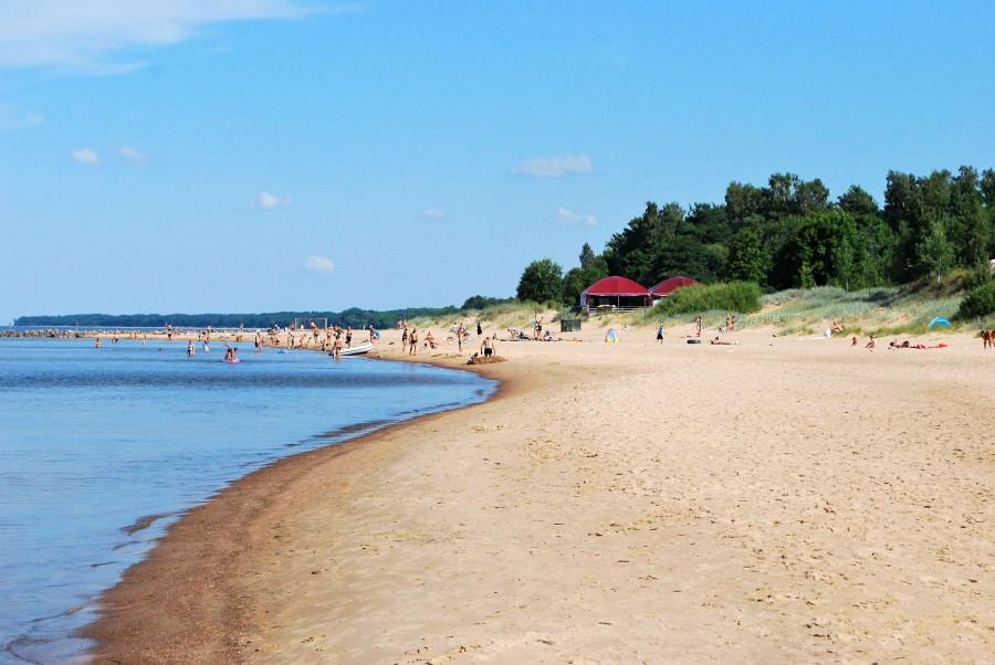 один мой летний день на взморье, посёлок Туя, Латвия