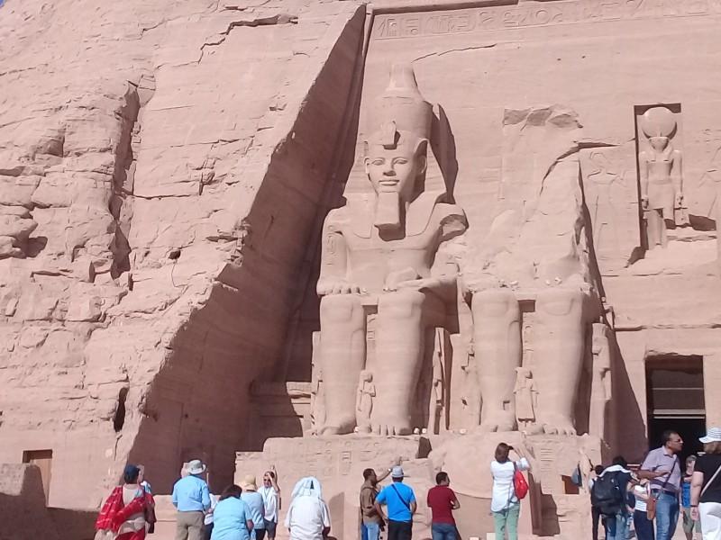один мой день в Абу Симбел, храм Рамзеса II, на границе Египта с Суданом