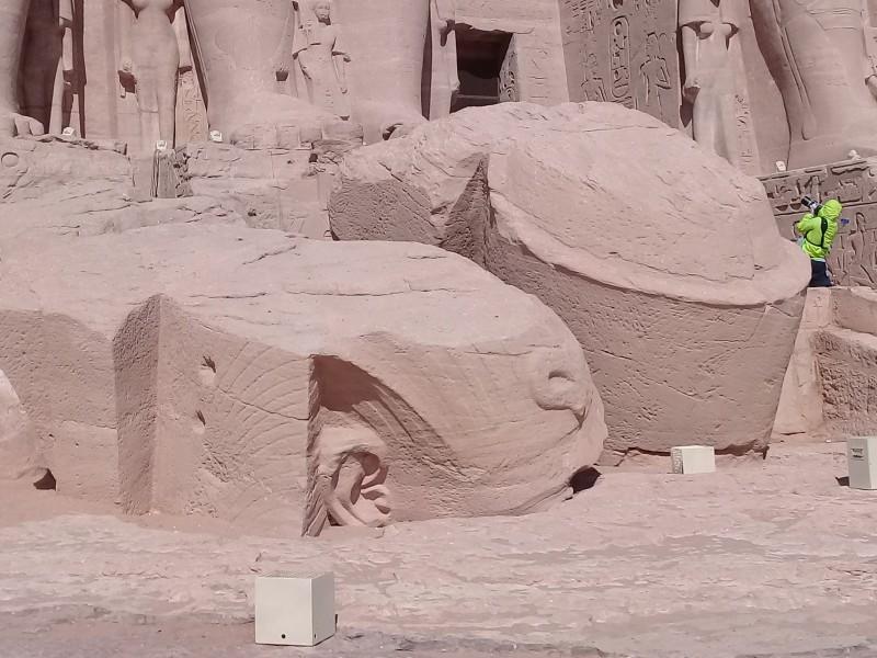 один мой день в Абу Симбел, храм Рамзеса II, на границе Египта с Суданом, фото 12