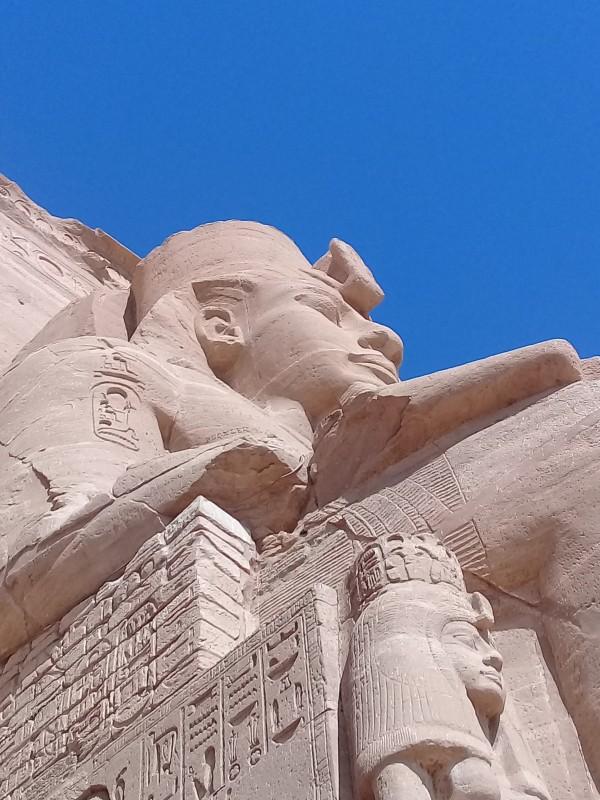 один мой день в Абу Симбел, храм Рамзеса II, на границе Египта с Суданом, фото 13