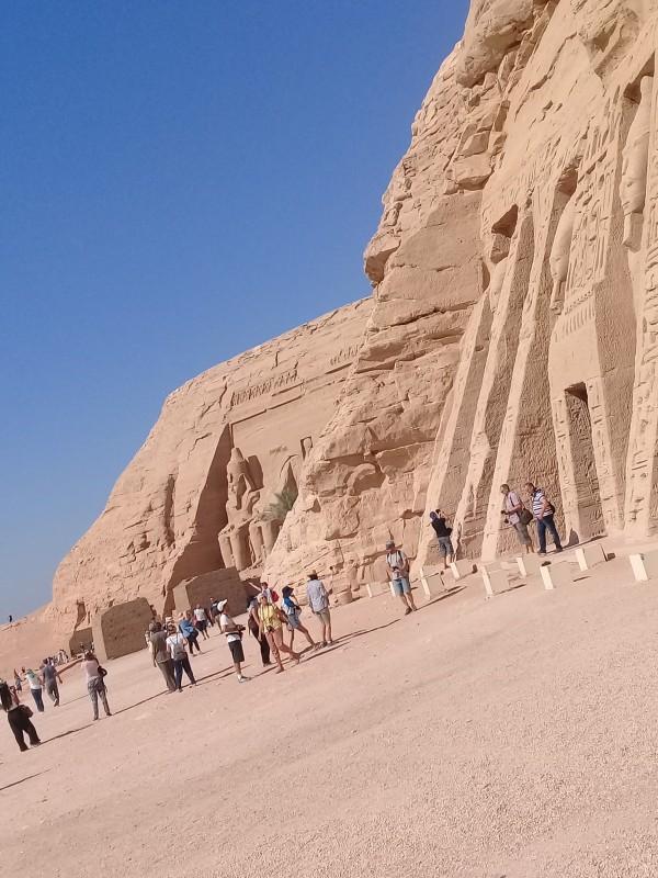 один мой день в Абу Симбел, храм Рамзеса II, на границе Египта с Суданом, фото 14