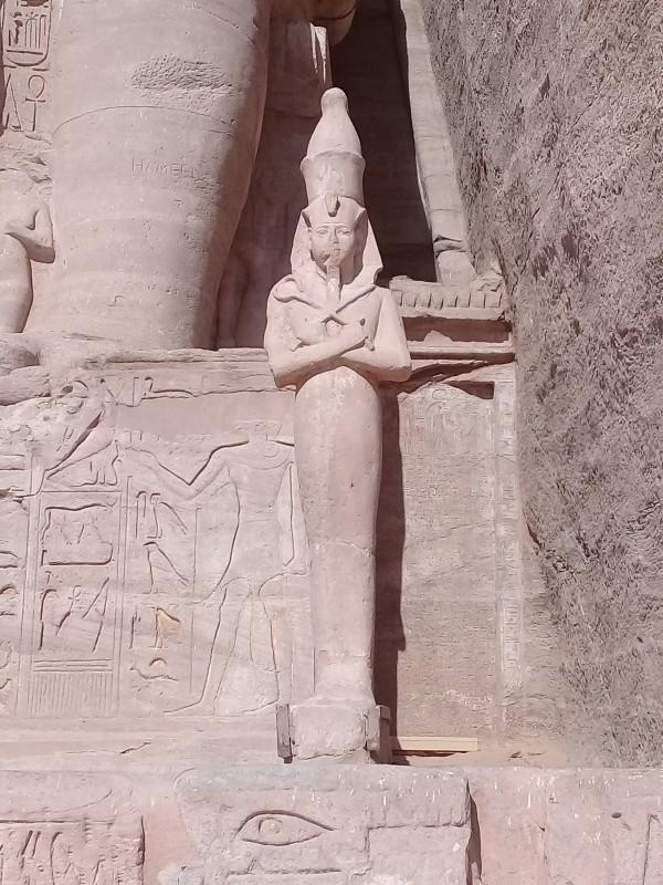 один мой день в Абу Симбел, храм Рамзеса II, на границе Египта с Суданом, фото 20