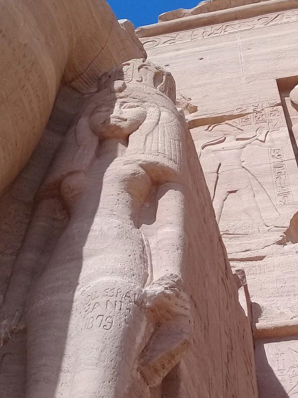 один мой день в Абу Симбел, храм Рамзеса II, на границе Египта с Суданом, фото 21