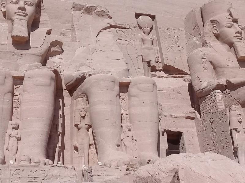 один мой день в Абу Симбел, храм Рамзеса II, на границе Египта с Суданом, фото 22