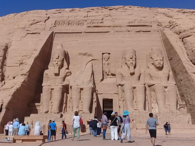 один мой день в Абу Симбел, храм Рамзеса II, на границе Египта с Суданом, фото 9