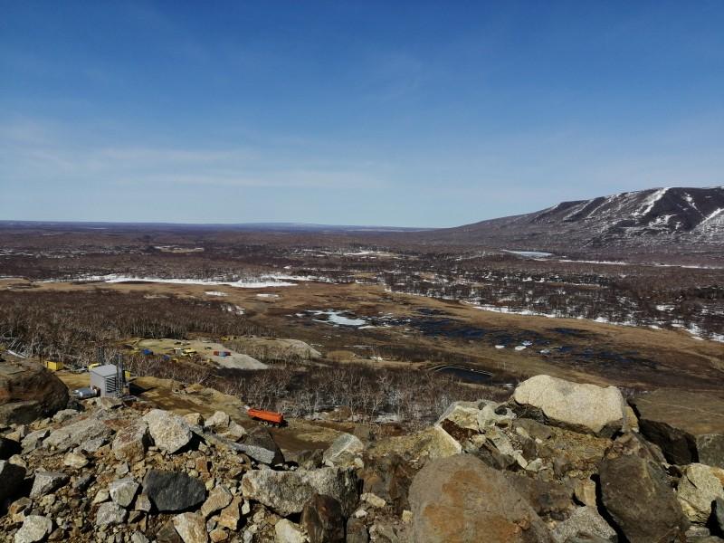 один будний день геофизика на Камчатке