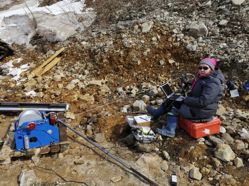 один будний день геофизика на Камчатке, фото 41
