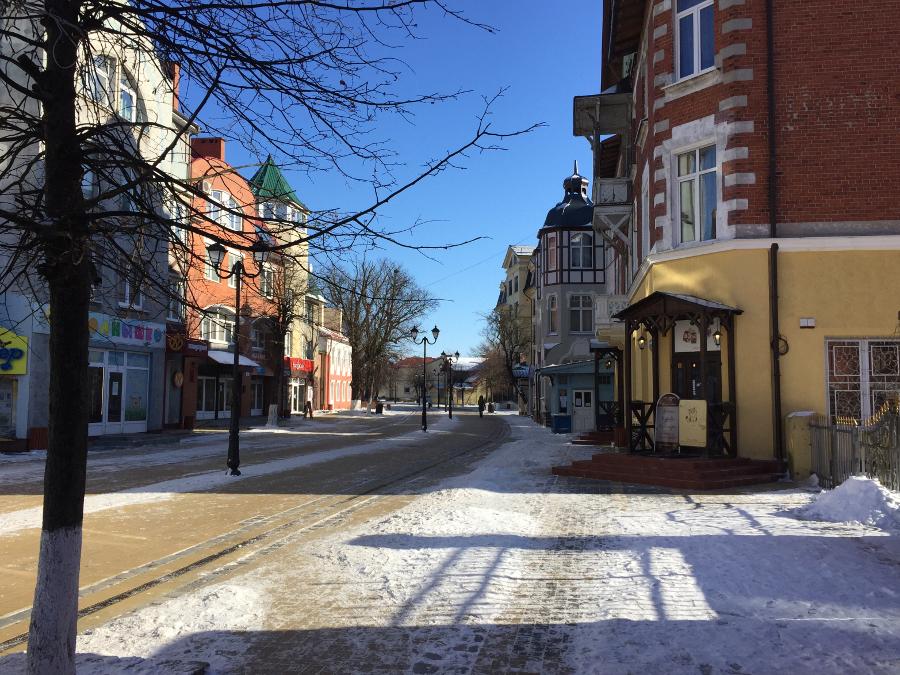 один мой день за сутки до весны в Зеленоградске, фото 19