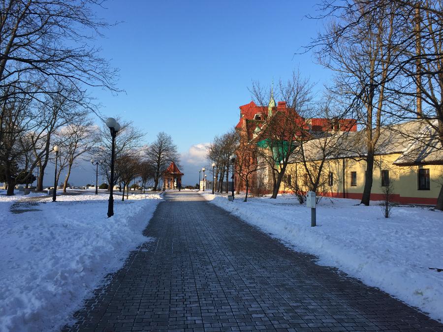 один мой день за сутки до весны в Зеленоградске, фото 38