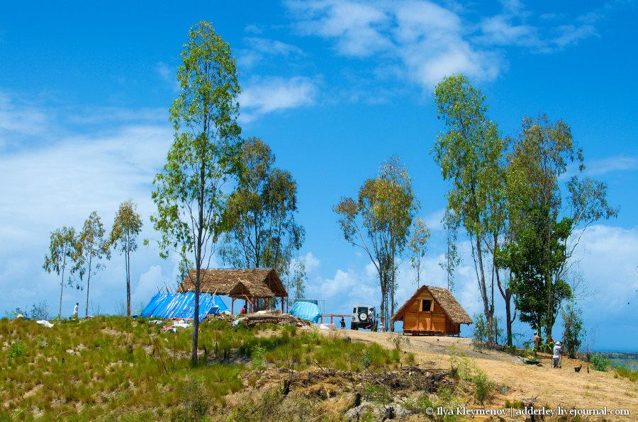 один рядовой день плантатора на Мадагаскаре