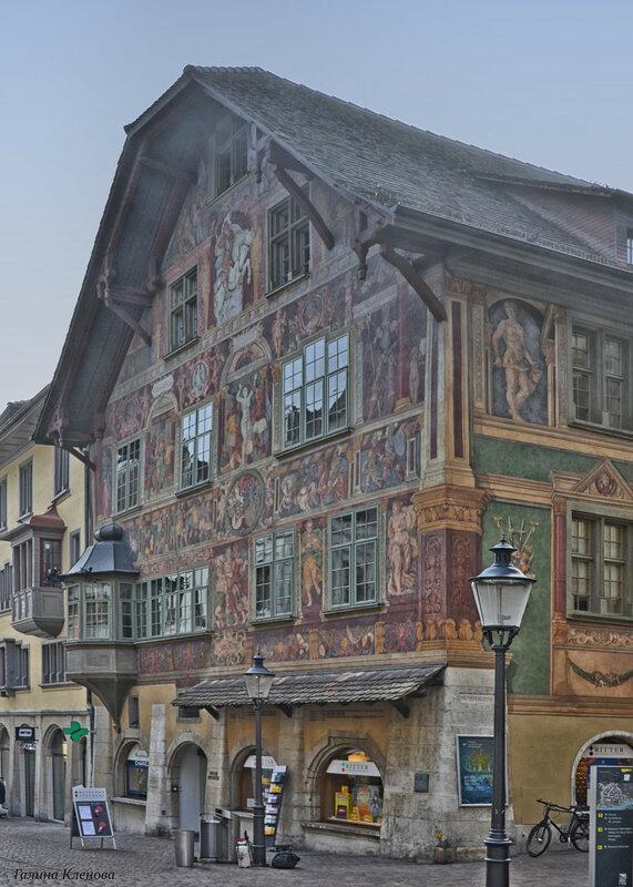 один день преподавателя французского языка в городе Люцерн, Швейцария, фото 19