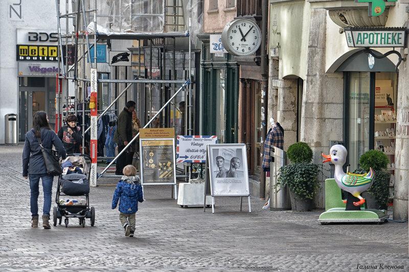 один день преподавателя французского языка в городе Люцерн, Швейцария, фото 31