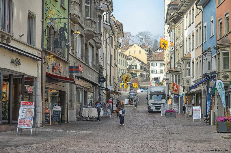 один день преподавателя французского языка в городе Люцерн, Швейцария, фото 32