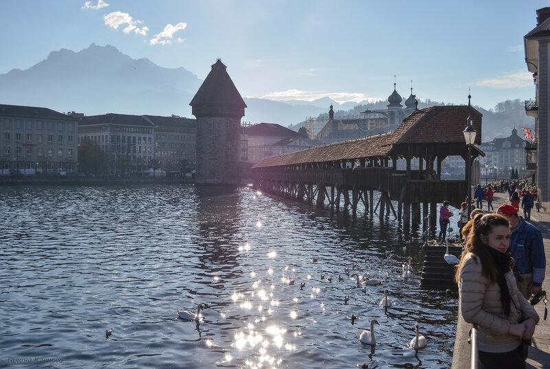 один день преподавателя французского языка в городе Люцерн, Швейцария, фото 51
