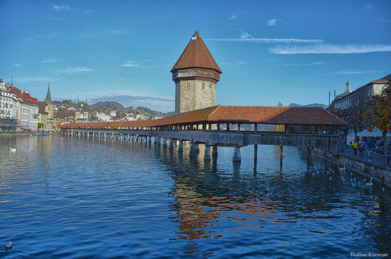один день преподавателя французского языка в городе Люцерн, Швейцария, фото 52