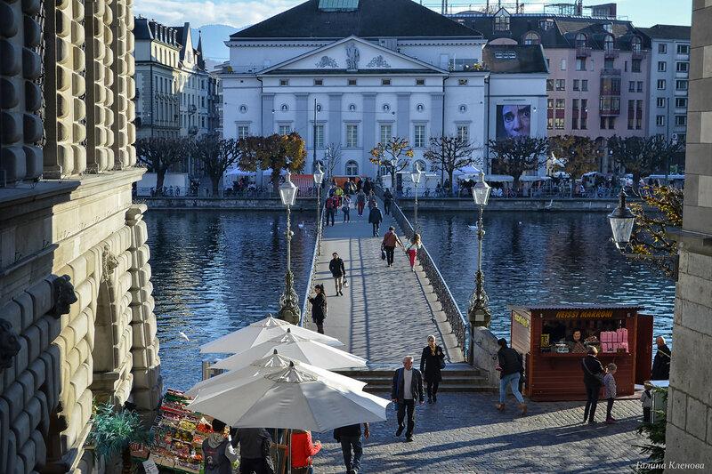 один день преподавателя французского языка в городе Люцерн, Швейцария, фото 53