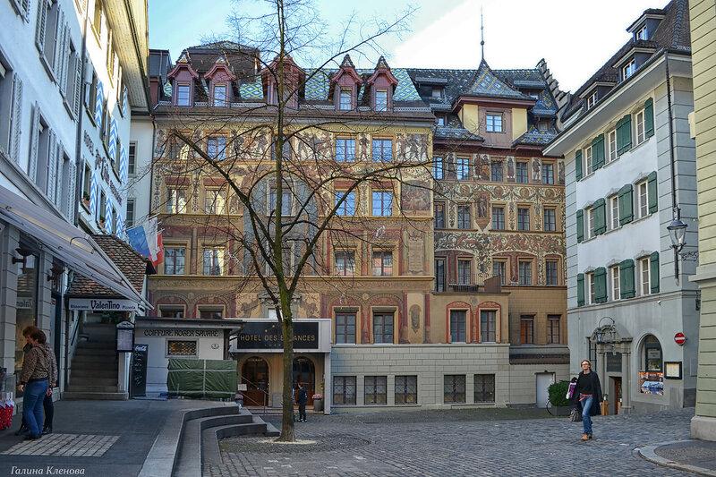 один день преподавателя французского языка в городе Люцерн, Швейцария, фото 54