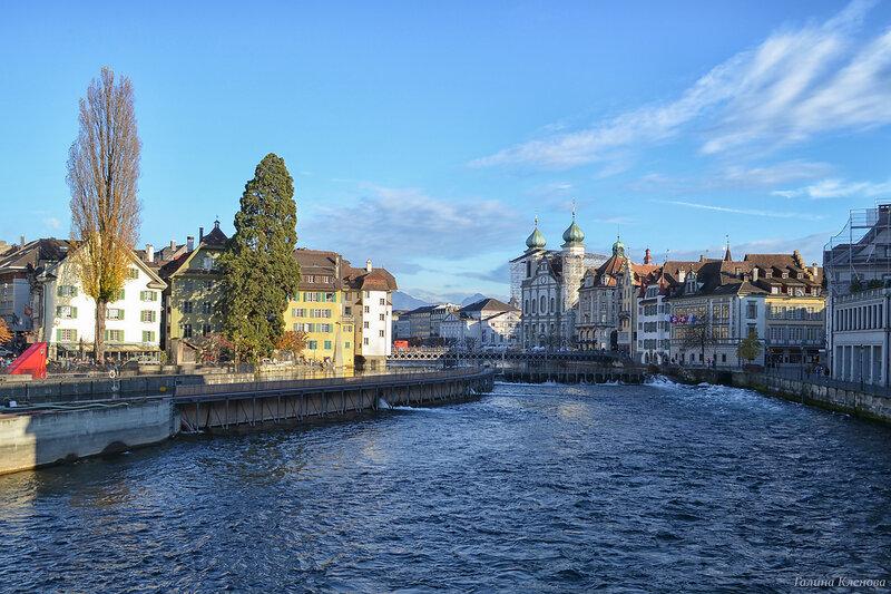 один день преподавателя французского языка в городе Люцерн, Швейцария, фото 58