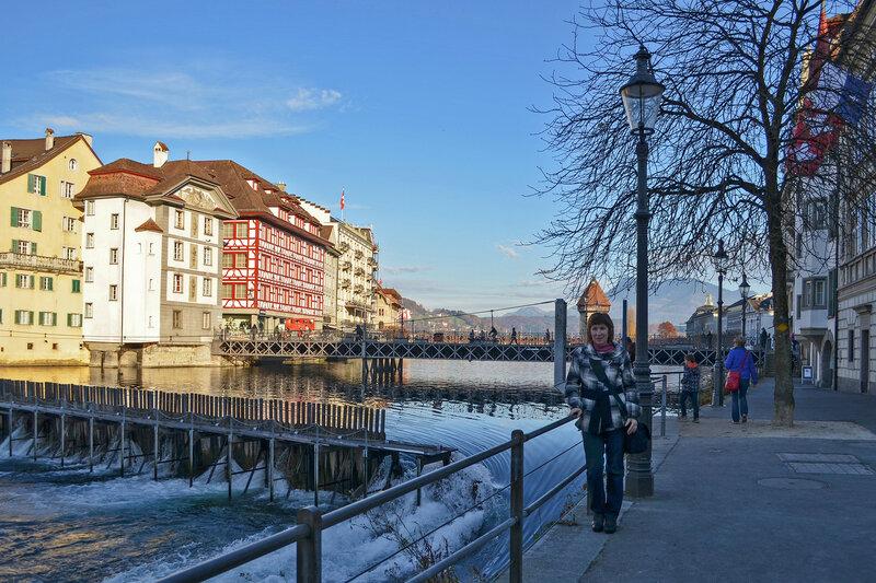 один день преподавателя французского языка в городе Люцерн, Швейцария, фото 62