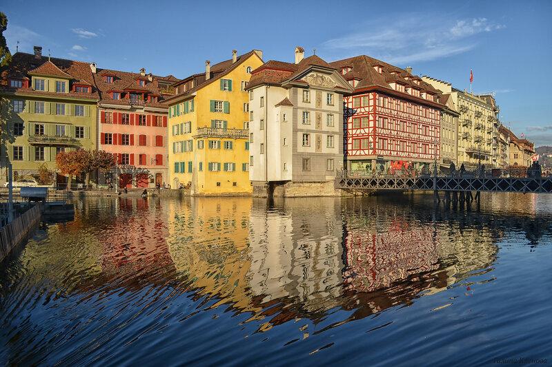 один день преподавателя французского языка в городе Люцерн, Швейцария, фото 64