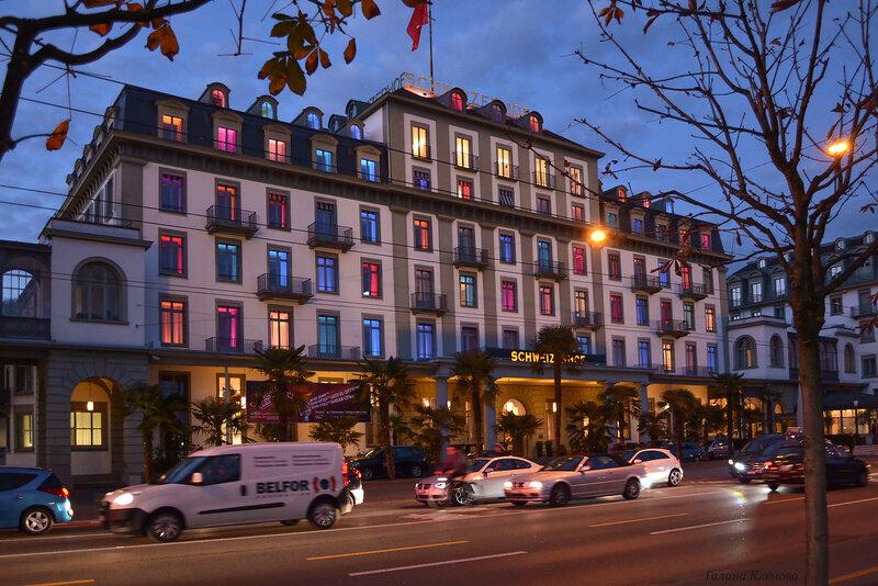 один день преподавателя французского языка в городе Люцерн, Швейцария, фото 69