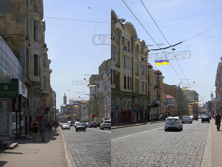 один летний день иллюстратора в городе Харьков, Украина, фото 25