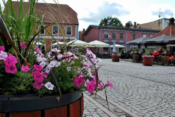 один мой летний день в латвийском городе Цесис