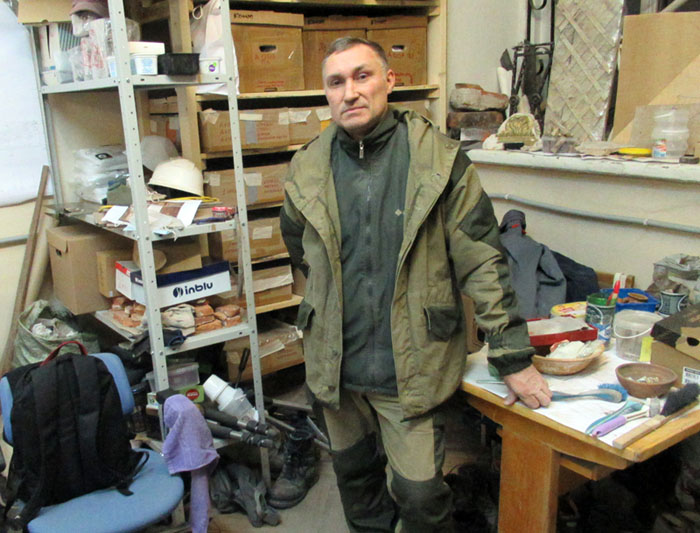 один осенний будний день археолога из Санкт-Петербурга