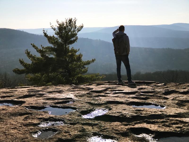 один мой день проведенный в походе на медвежью гору в Харрисоне, США, фото 36