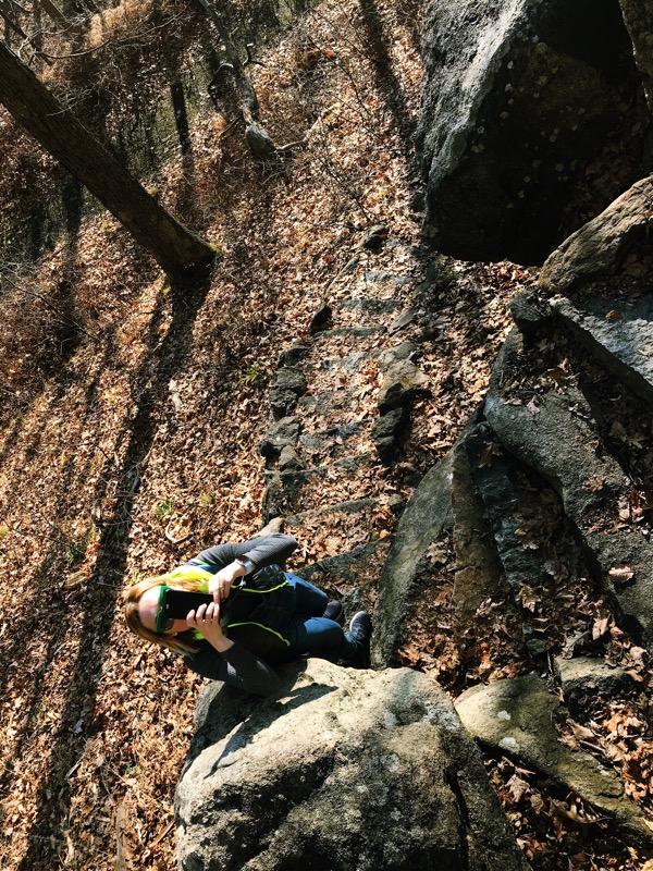 один мой день проведенный в походе на медвежью гору в Харрисоне, США, фото 38