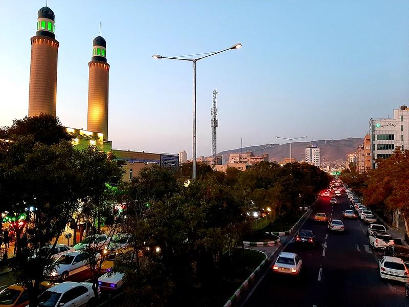 Один день путешественника по Ирану, на поезде, из Табриза в Мешхед