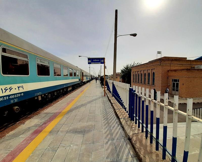 Один день путешественника по Ирану, на поезде, из Табриза в Мешхед, фото 32