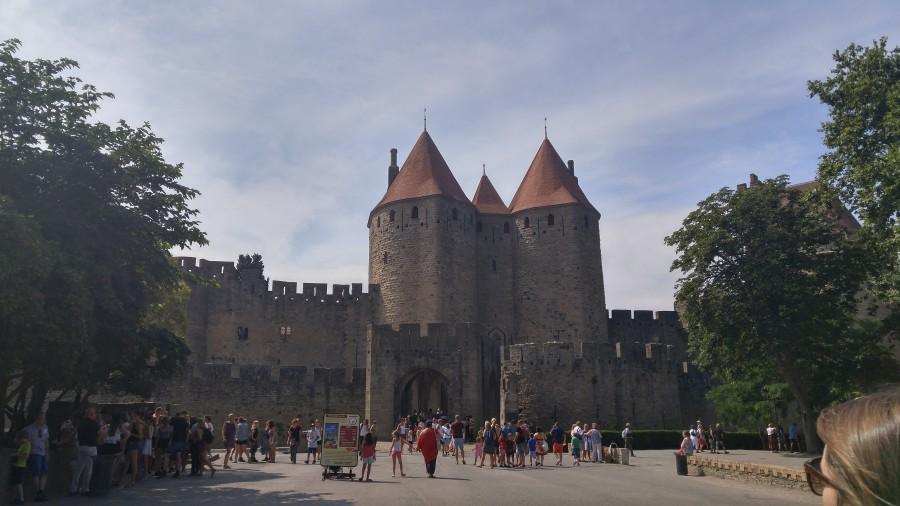 один мой выходной, поездка на дачу и обратно, город Тулуза, Франция