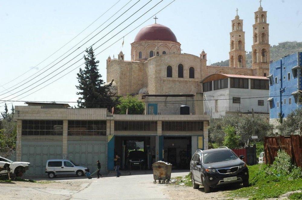 Один мой выходной день проведенный в пути, из Самарии в Палестину и назад