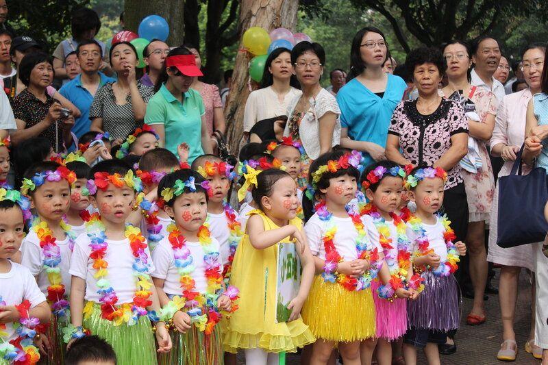 День защиты детей на субтропическом острове Сямэнь, Юго-Восток Китая, фото 13