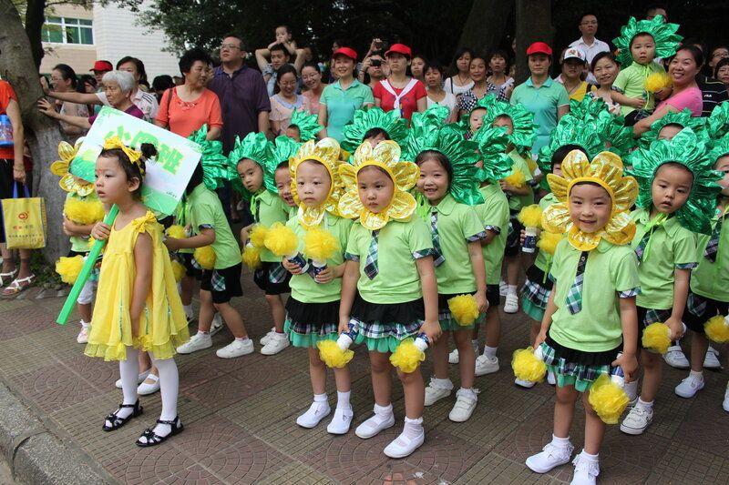 День защиты детей на субтропическом острове Сямэнь, Юго-Восток Китая, фото 14